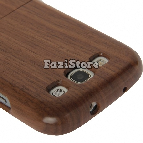 Detachable Mahogany Wood Case, Samsung Galaxy S3 Case, Wood Phone Case, Samsung Galaxy S III Case