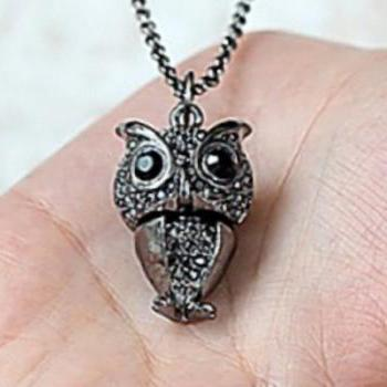 Owl Necklace, Amazing Owl Necklace, Owl Necklace Jewelry, Owl, Necklace, Free Shipping Necklace